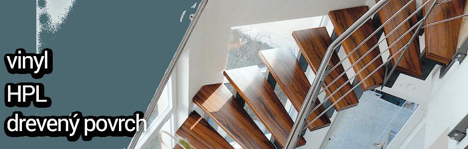 EL Postforming - vhodné pre nové i rekonštruované schody